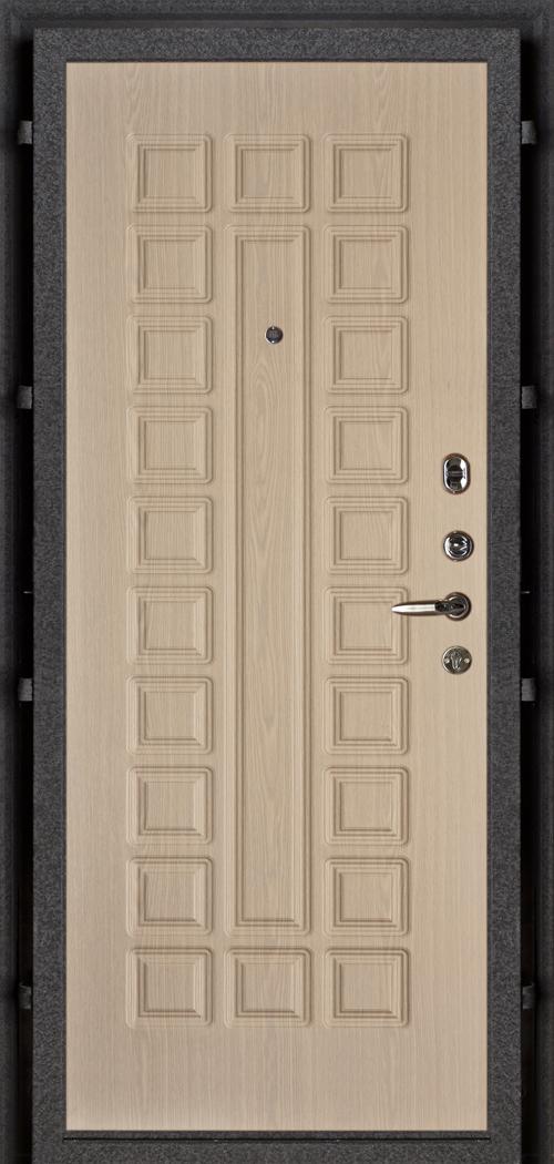 входные металлические двери внутренняя отделка беленый дуб